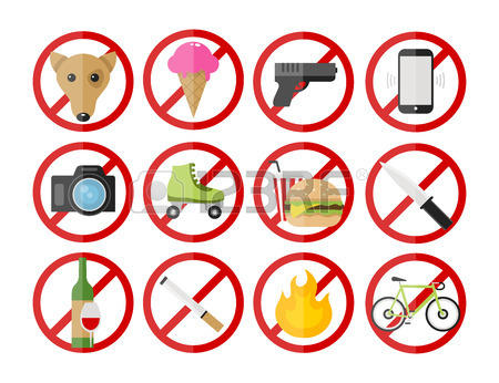 No Cellphone Clipart