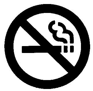 324x316 No Smoking Sign Clip Art