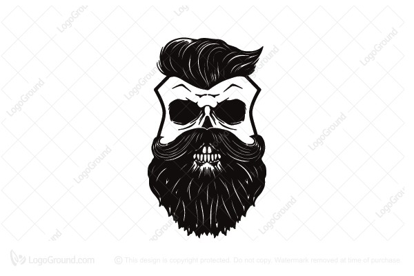 600x400 Skullsign Barbershop Logo