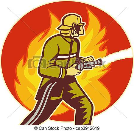 450x439 Firefighter Clipart Fire Fighting Equipment