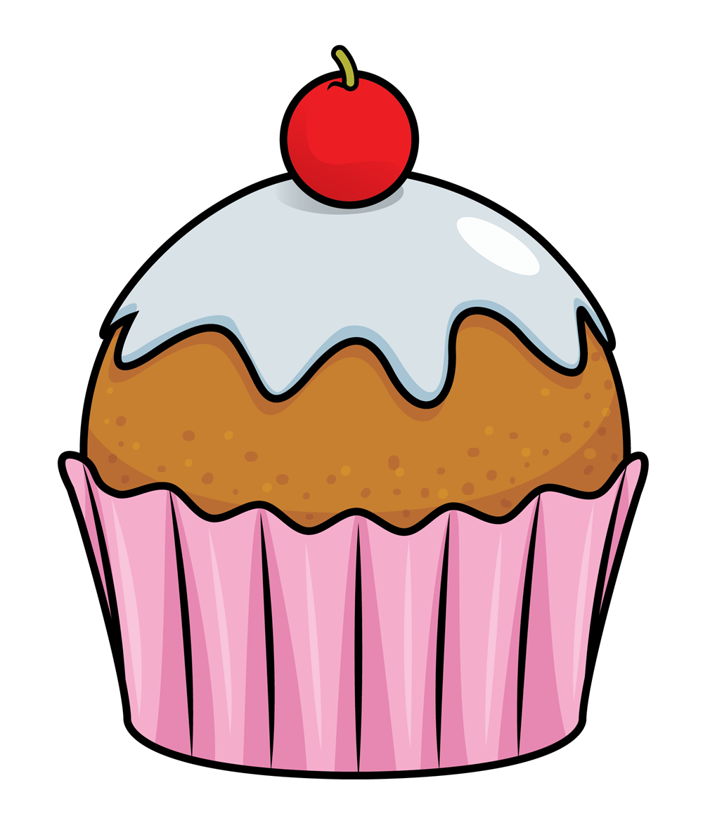 1000x1172 Free Cupcake Clipart