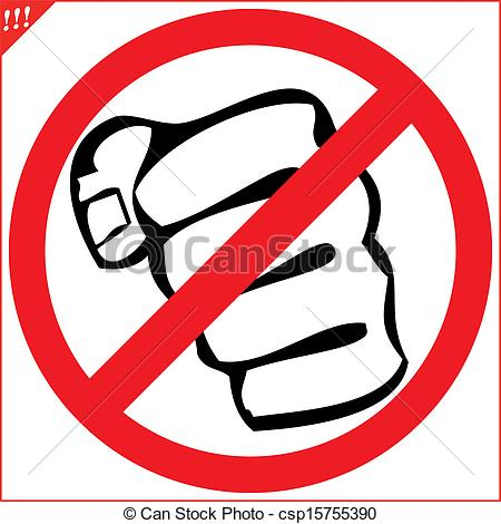 450x470 No Fighting Clipart