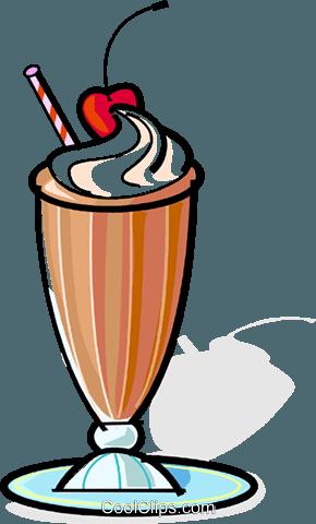 290x480 Milkshake Royalty Free Vector Clip Art Illustration Vc061861