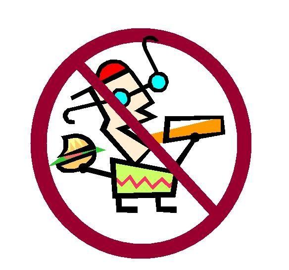 584x544 No Food Or Drink Clip Art Cliparts