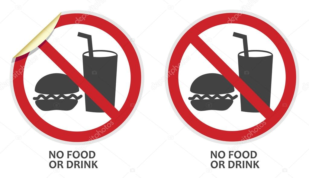 1023x588 No Food Drink Stock Vectors, Royalty Free No Food Drink