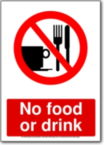 213x297 No Food Or Drink Clipart