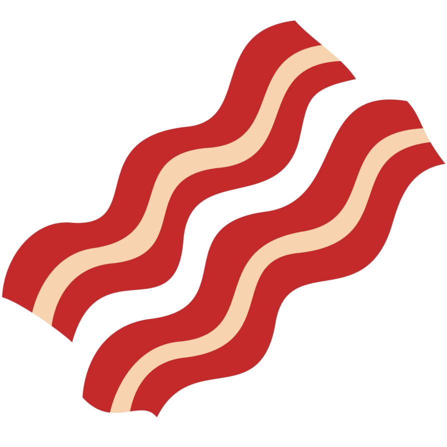 894x894 Bacon Clipart Png