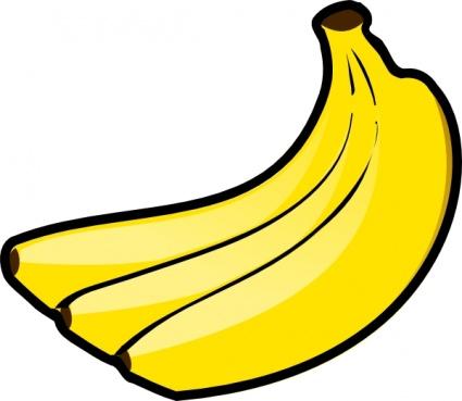 425x369 Bananas Clip Art Vector, Free Vector Images