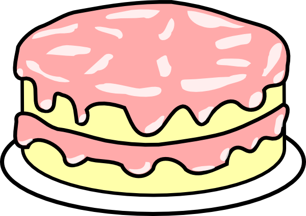 600x425 Cake Clipart