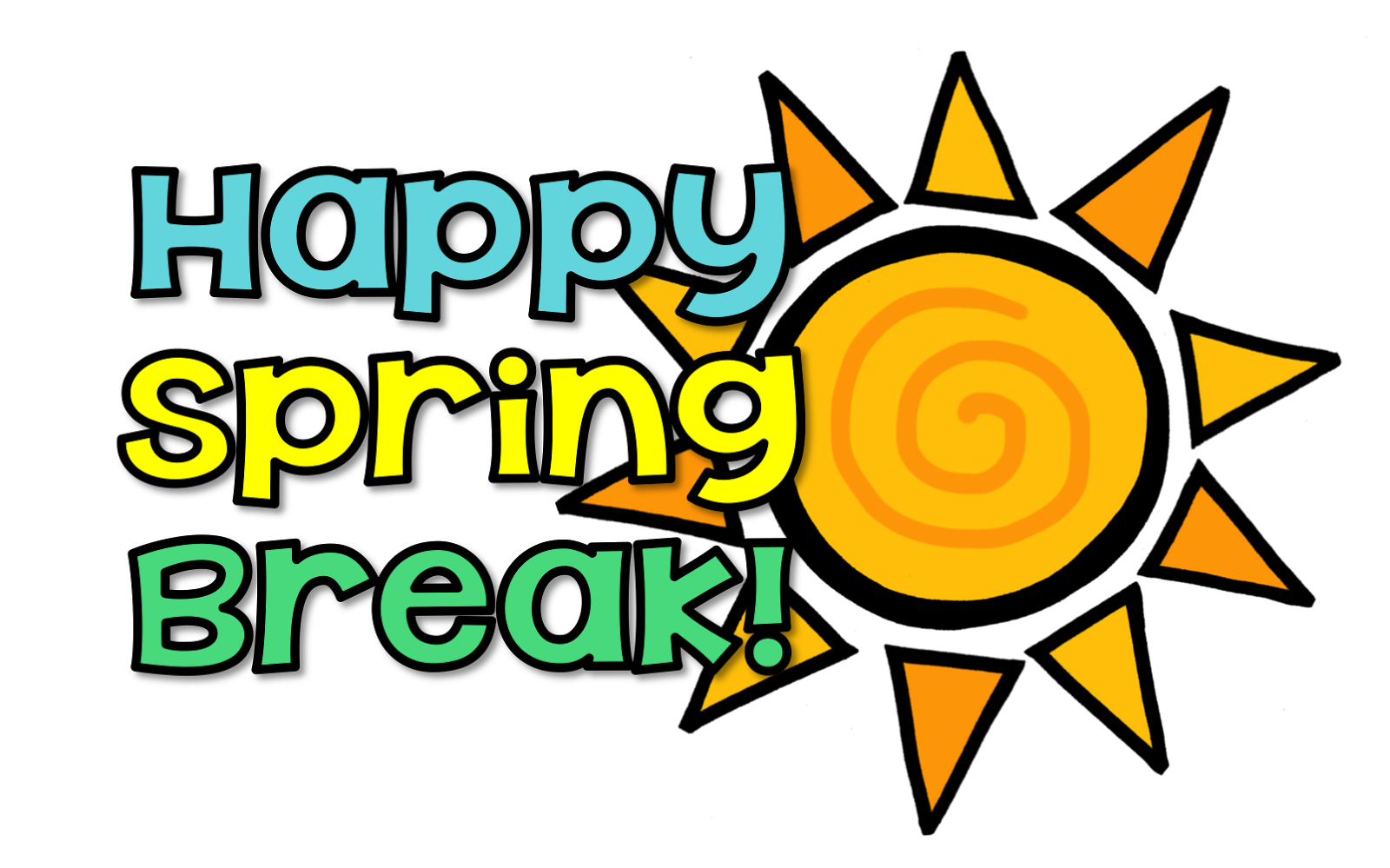 1600x999 Spring Break Clip Art 5