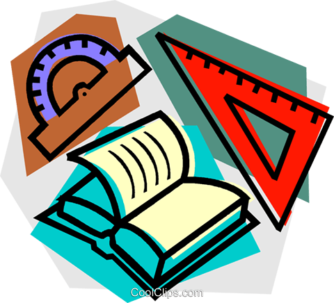 480x436 School Project, Mathematics Royalty Free Vector Clip Art