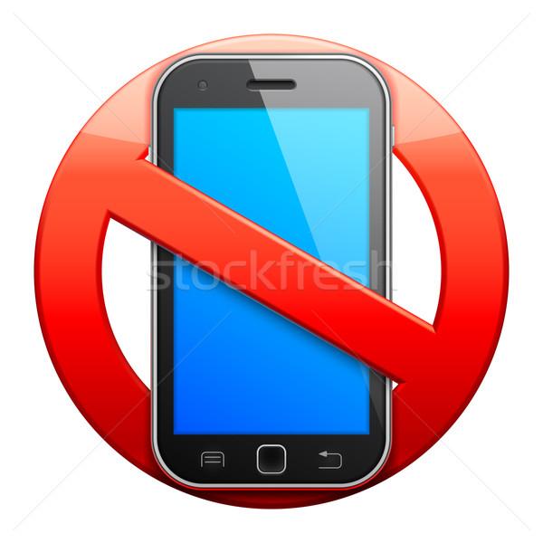 600x600 No Cell Phone Sign. Vector Illustration Timur Syrtsov (Timurock