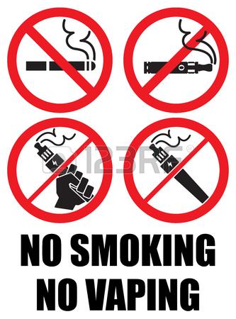No Smoking Sign Clipart