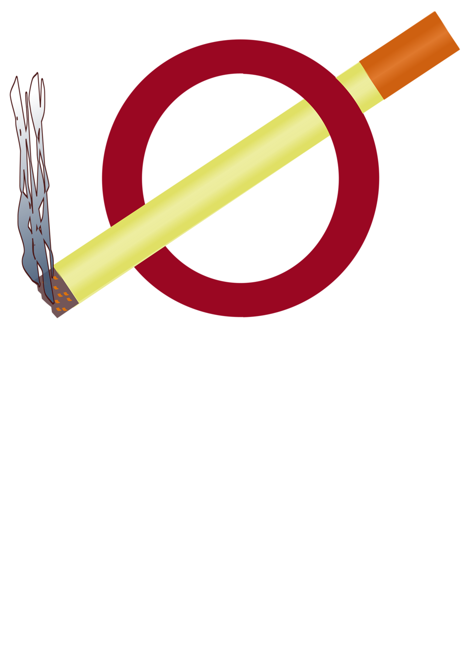 958x1355 No Smoking Free Stock Photo Illustration Of A No Smoking