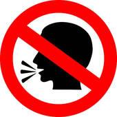 170x170 No Talking Clip Art