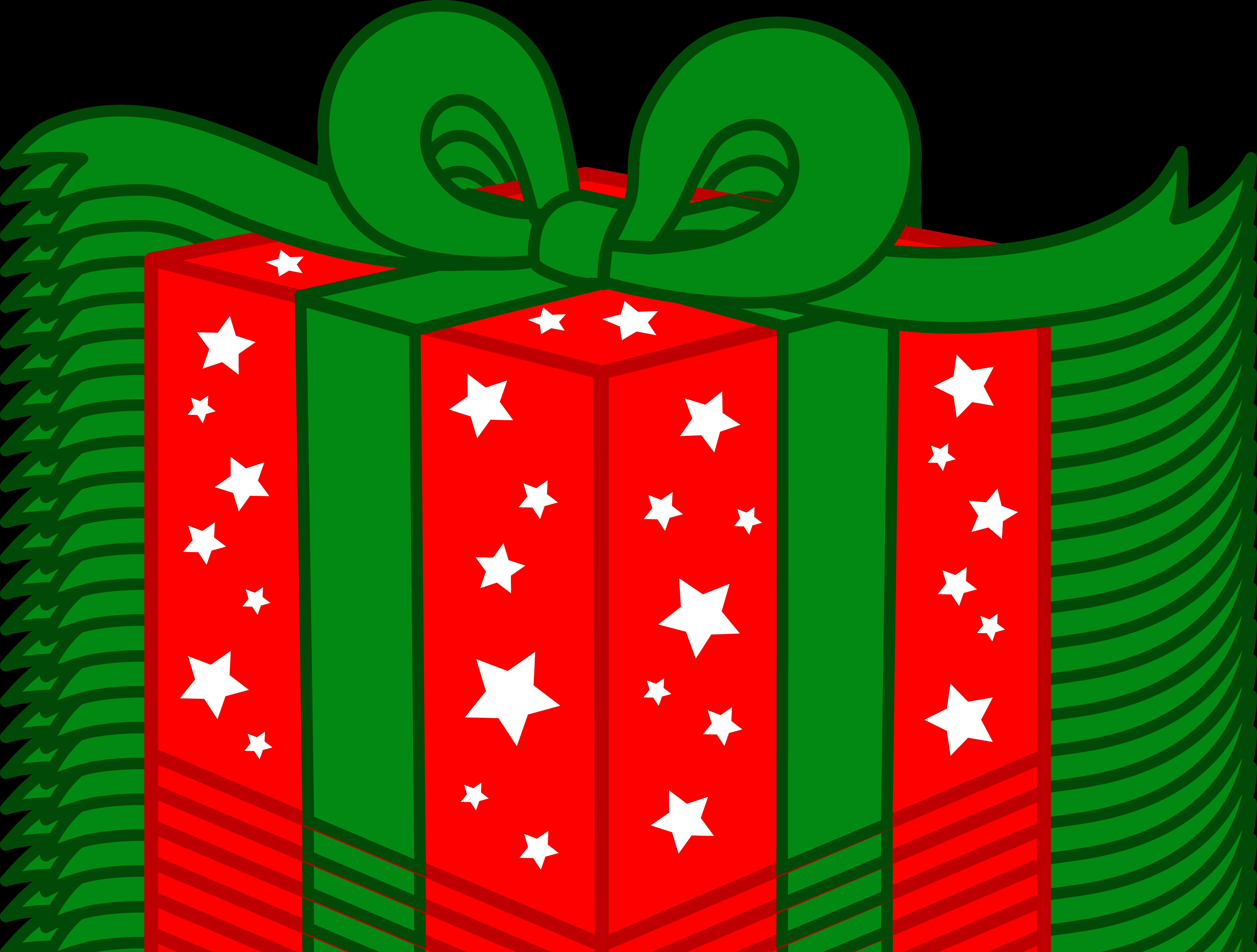6768x5126 Christmas Gift Clip Art Many Interesting Cliparts