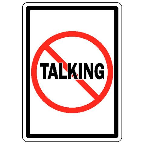 475x475 No Talking