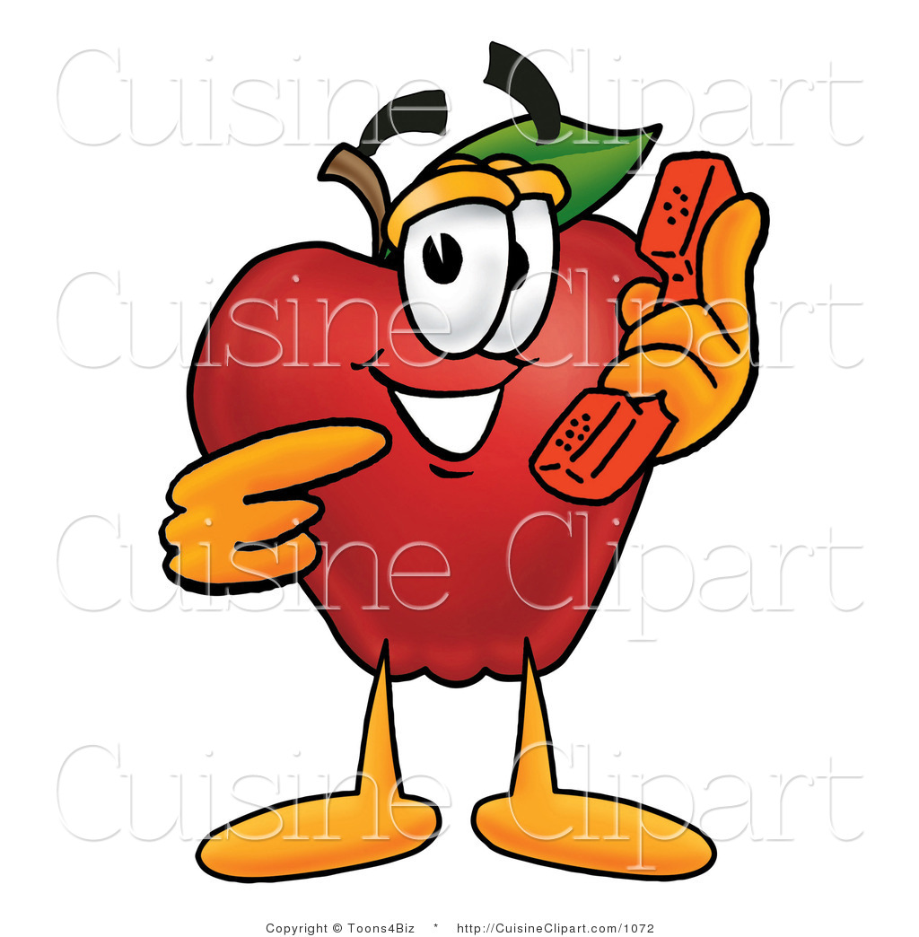 1024x1044 Cuisine Clipart Of A Friendly Red Apple Character Mascot Talking