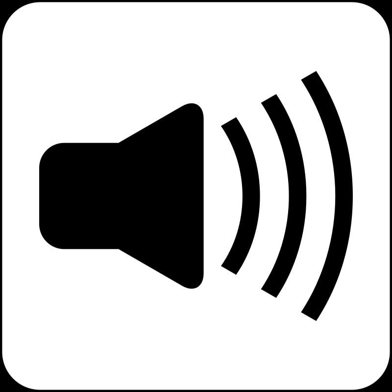 800x800 Noise clipart echo