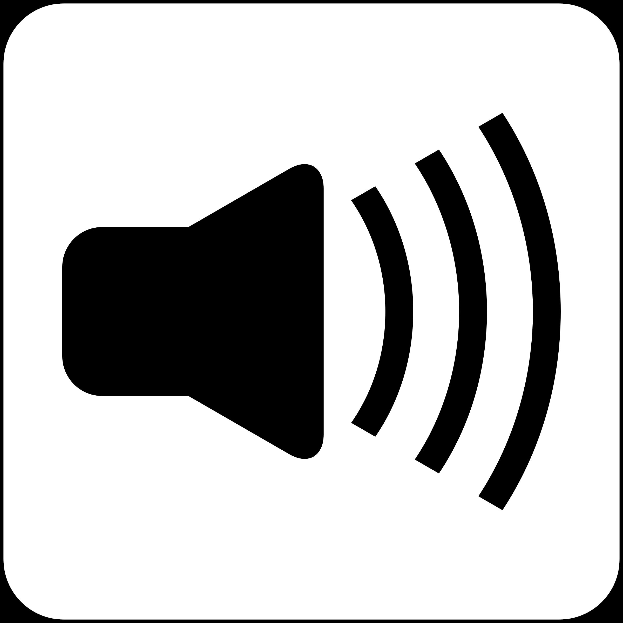 2400x2400 Audio Clipart Loud Noise