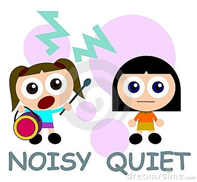 400x371 Noise Clipart Quietly