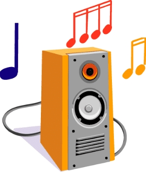 300x354 Audio Clipart Noise