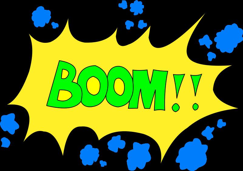 800x563 Boom Clipart Loud Noise
