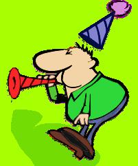201x241 Party Clipart Noisemaker