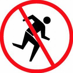 250x250 Do Not Walk Clipart 2116148