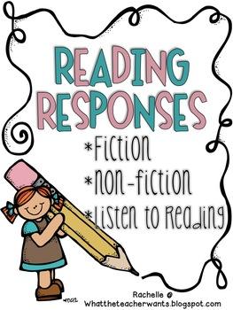 263x350 Reading Responses By Rachelle Smith Teachers Pay Teachers