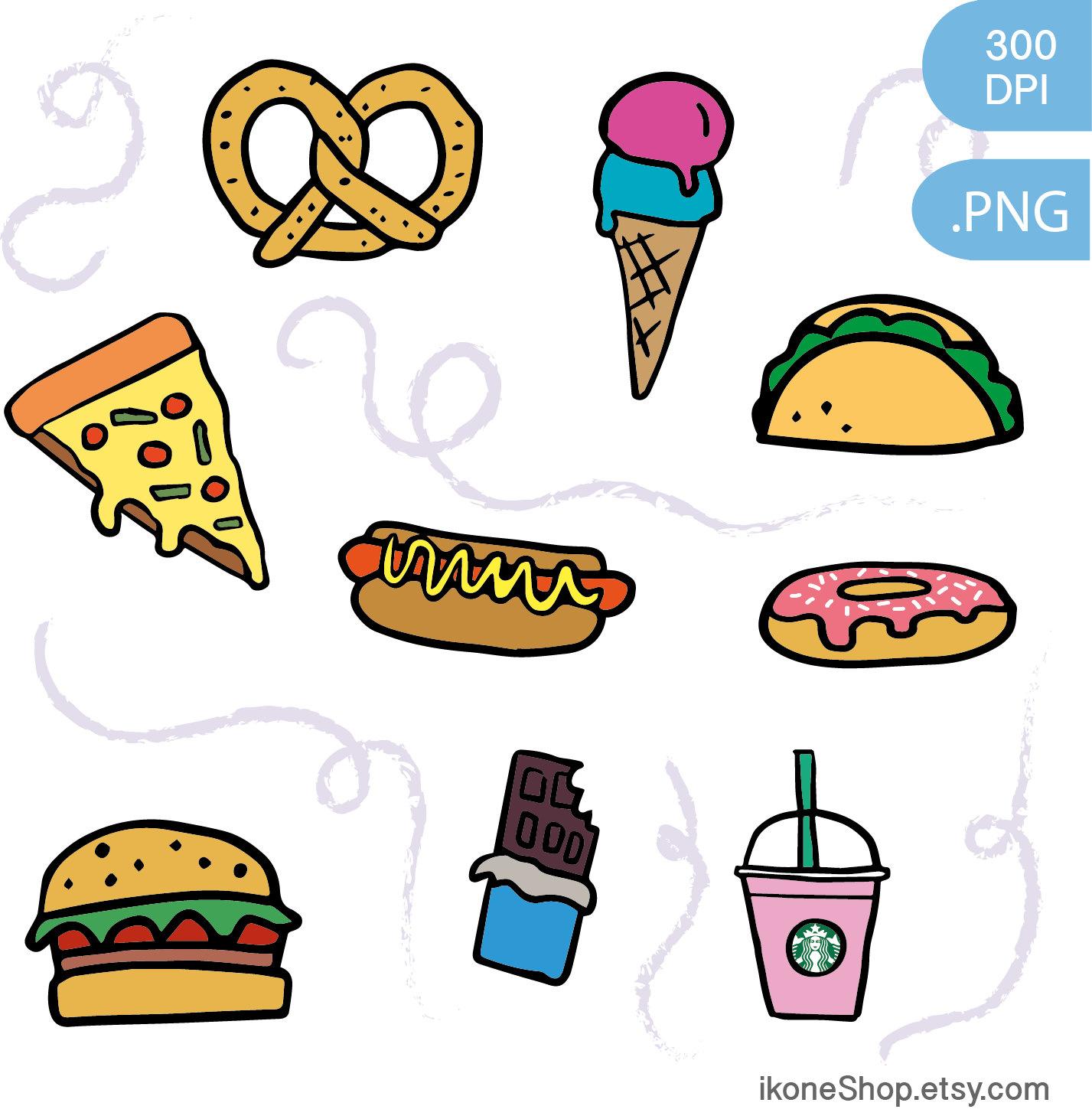 1427x1462 Food Clipart Unhealthy Food