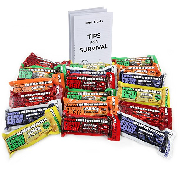 608x608 Millennium Energy Bars Assorted Flavors 18 Pack Including
