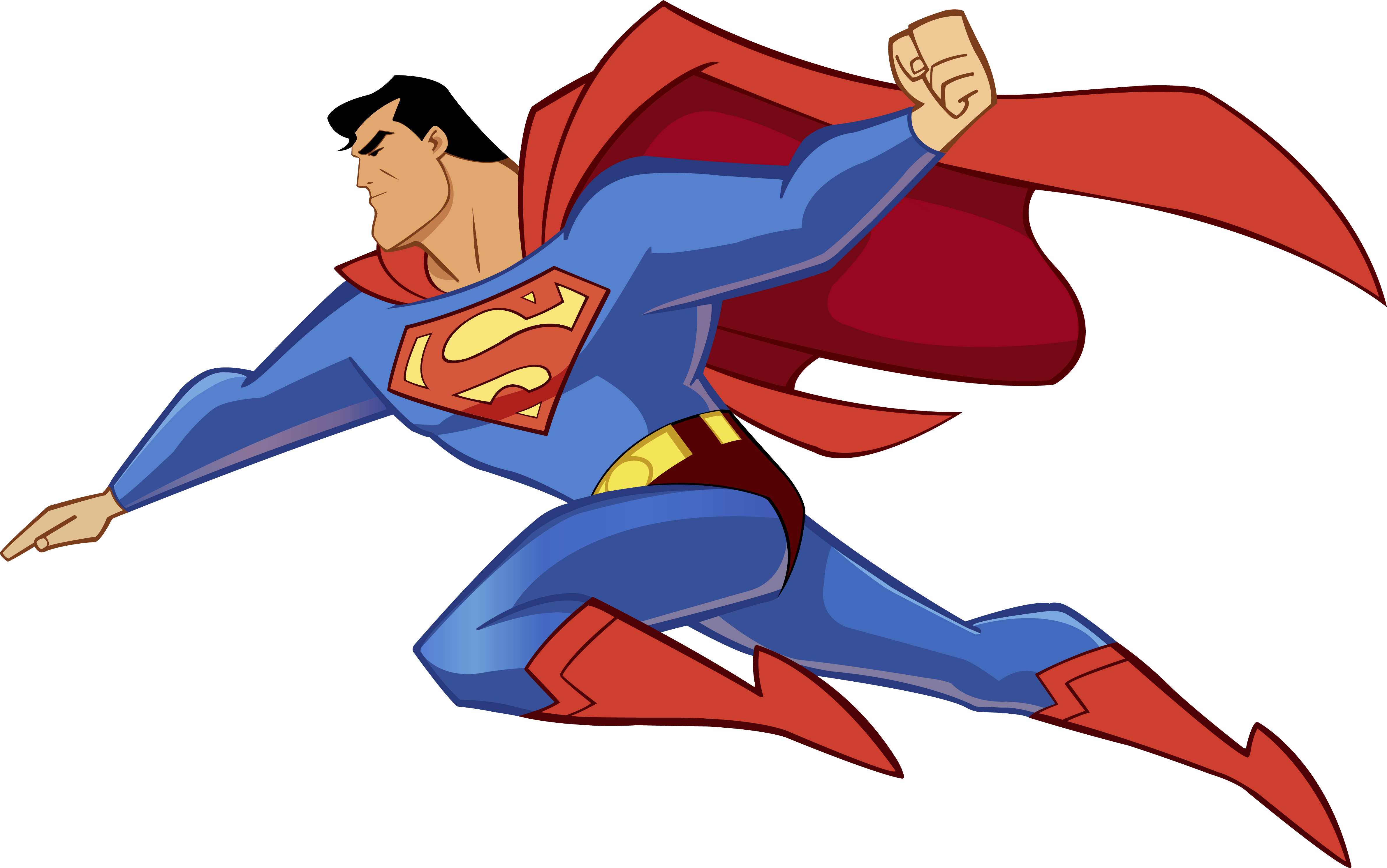 4760x2981 Clipart Of Superman