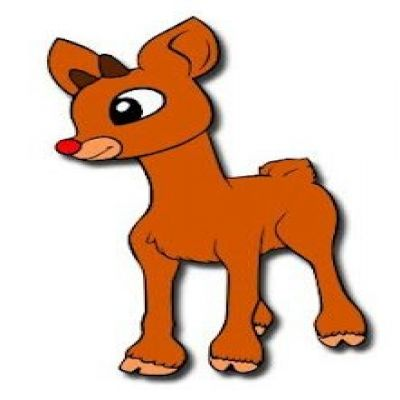400x400 Rudolph The Movie Clipart