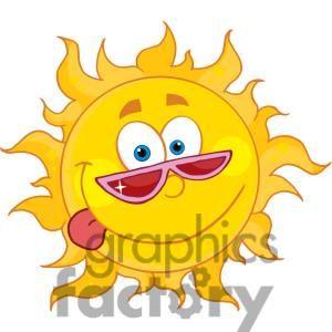 Noon Sun Clipart