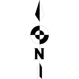 300x300 North Arrow Clip Art