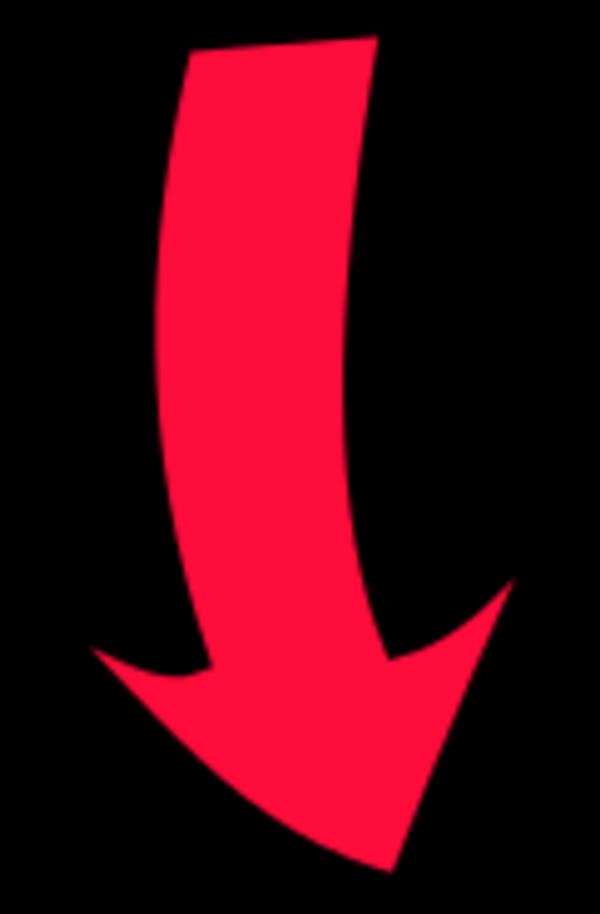 600x914 North Arrow Clip Art