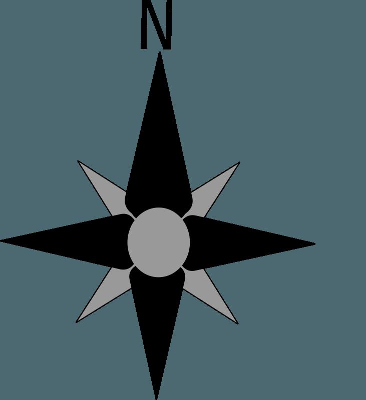 731x800 North Clipart