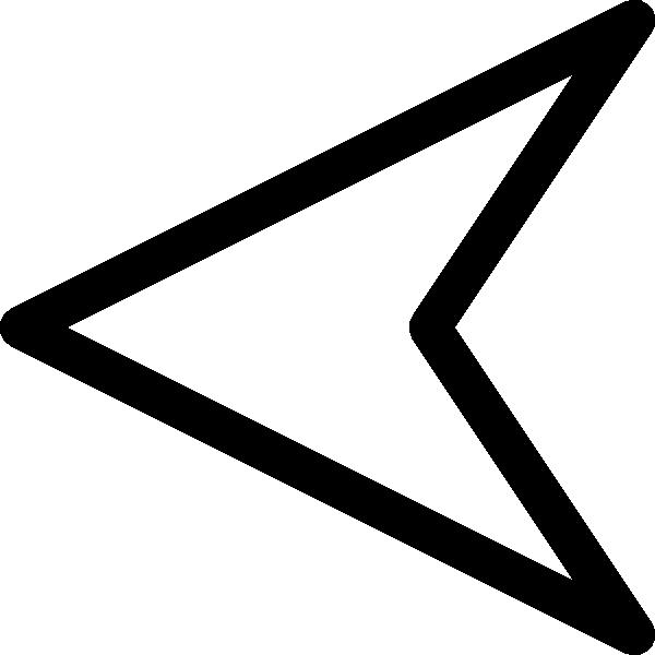 600x600 Plain Arrow Clip Art