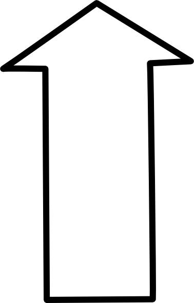 378x591 This Way Up Arrow Free Vector Download (80,674 Free Vector)