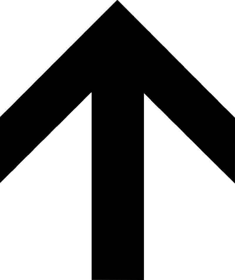 800x951 Black, Left, Simple, North, Arrow, Direction, Pointing