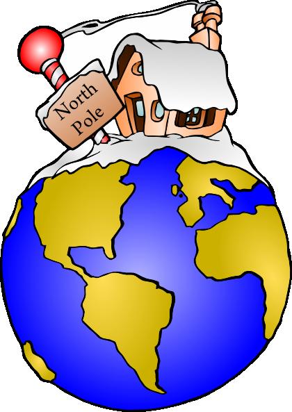 420x593 North Pole Clip Art