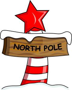 240x300 Christmas North Pole Clipart