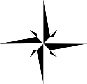 299x288 North Star Clip Art