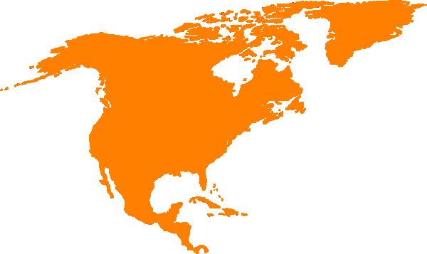 600x357 Montessori North America Continent Map Outline Clip Art