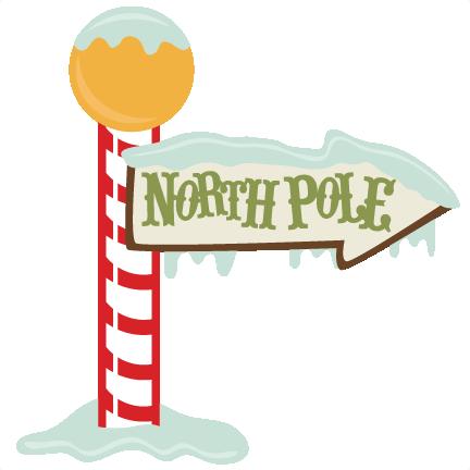 432x432 Christmas Christmas North Pole Sign, Pole Sign