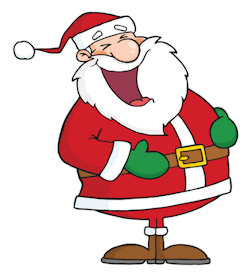 250x277 Santa Update Mail To The North Pole Jumps After Santa'S