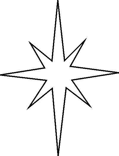 Christmas Clip Art North Star.North Star Clipart Free Download Best North Star Clipart
