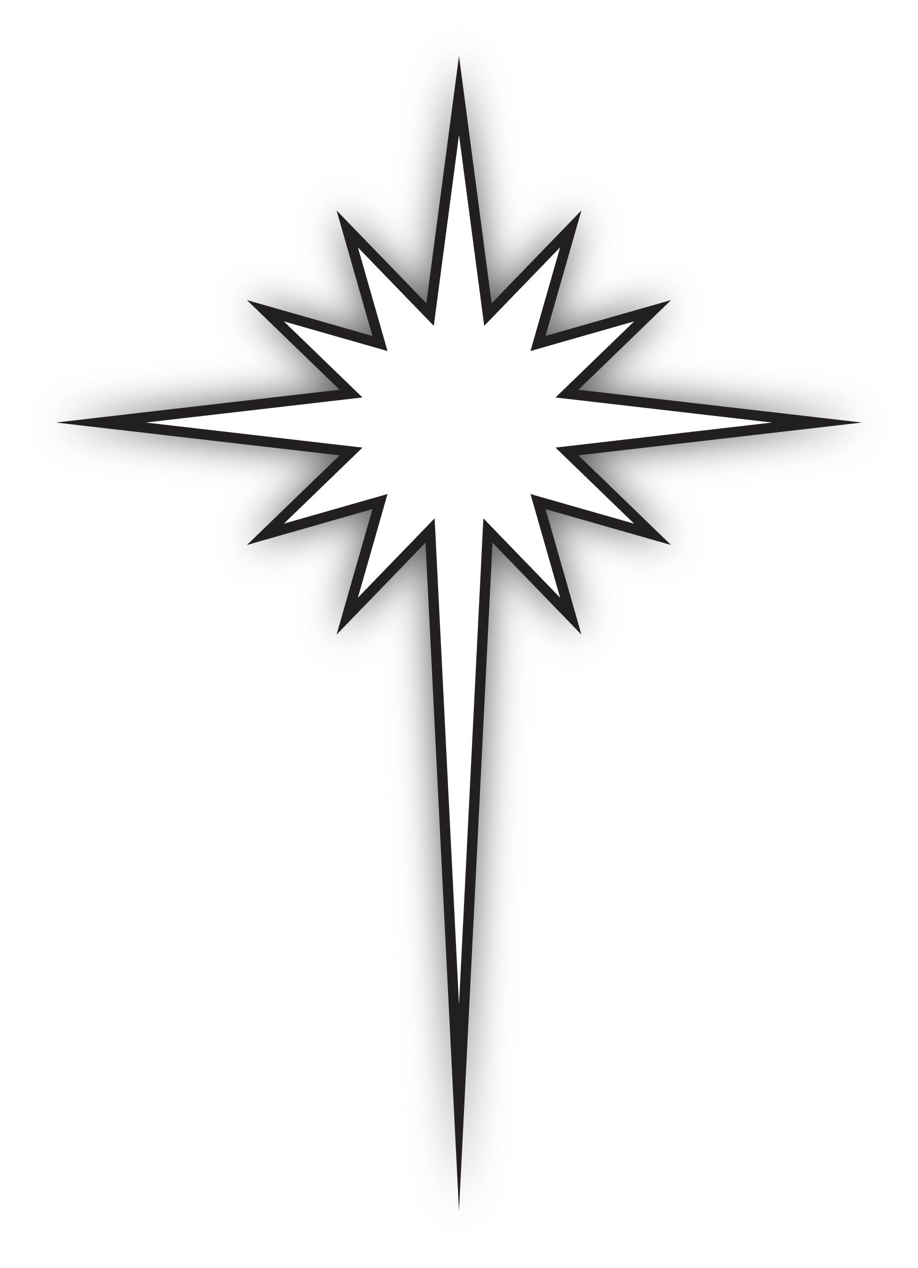 1848x2551 Star Of Bethlehem Clipart Many Interesting Cliparts