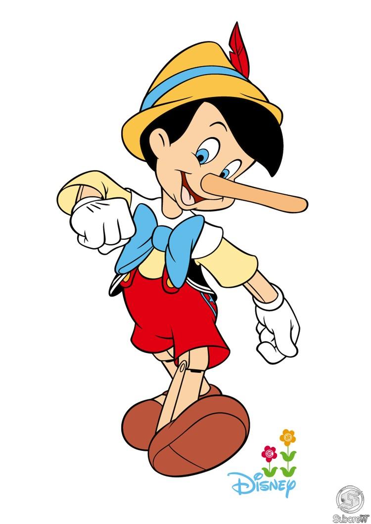 750x1060 Top 97 Pinocchio Clip Art